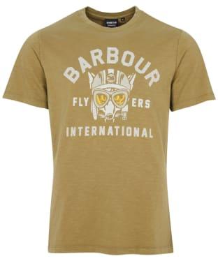 Men's Barbour International Understeer Tee - Military Green