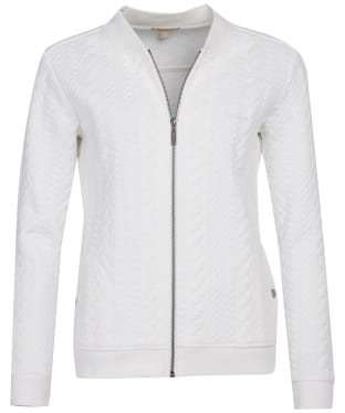 Women's Barbour Kelsey Sweatshirt - Off White