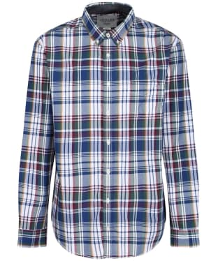 Men's Joules Lyndhurst Shirt - Purple Large Check