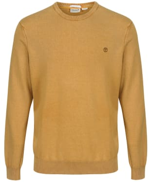 Men's Timberland Lightweight Crew Neck Sweater - Wheat Boot