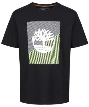 Men's Timberland Graphic Tree Tee - Black