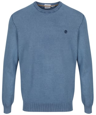 Men's Timberland Lightweight Crew Neck Sweater - Dark Denim