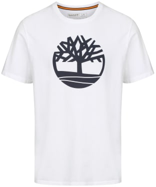Men's Timberland Kennebec River Tree Tee - White