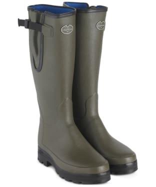 Men's Le Chameau Vierzonord Neo Wellington Boots - 43 cm calf - Vert Chameau