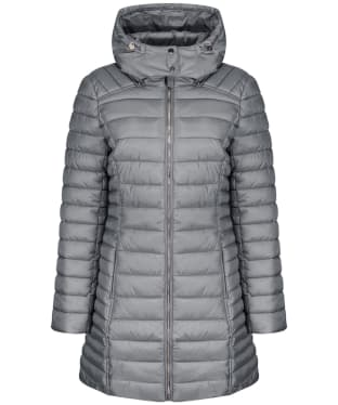 Women's Joules Canterbury Long Luxe Jacket - Slate