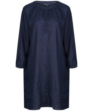 Women's Crew Clothing Linen Tunic - Navy