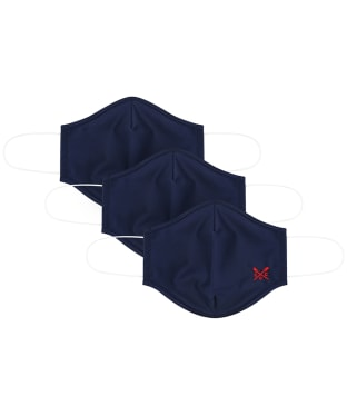 Crew Clothing 3 Pack Face Coverings - Navy
