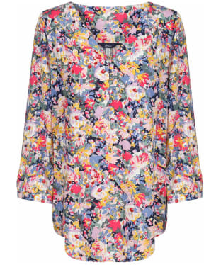Women's Joules Briella Top - Blue Floral