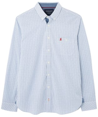Men's Joules Abbott Classic Shirt - Blue Check