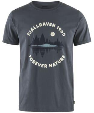 Men's Fjallraven Forest Mirror T-Shirt - Navy