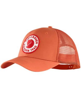 Fjallraven 1960 Logo Langtradarkeps Cap - Rowan Red