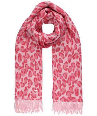 Women's Joules Elissa Scarf - Pink Leopard
