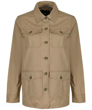 Women's Crew Clothing Twill Field Jacket - Stone