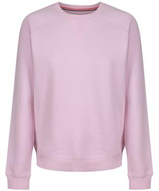 Women's Crew Clothing Brushed Back Crew Sweatshirt - Pink Snow