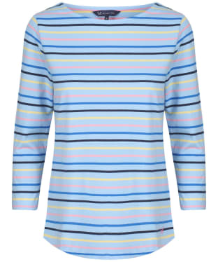 Women's Crew Clothing Essential Breton Top - Blue Multi