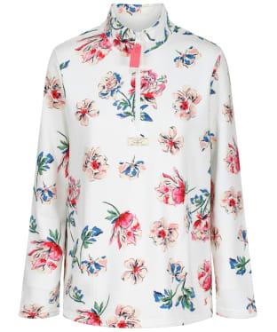Women's Joules Pip Half Zip Sweatshirt - Cream