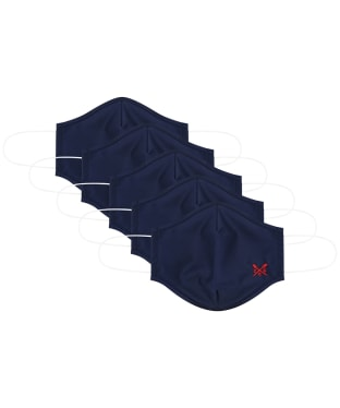 Crew Clothing 5 Pack Face Coverings - Navy
