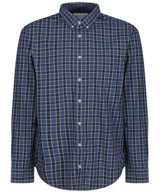 Men's Joules Lyndhurst Shirt - Blue / Yellow Check
