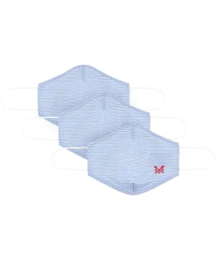 Crew Clothing 3 Pack Face Coverings - Stripe