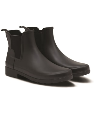 Women's Hunter Refined Chelsea Boots - Black