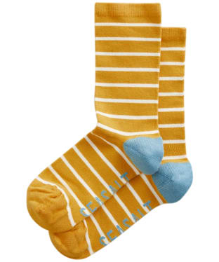 Women's Seasalt Sailor Socks - Breton Sunglow