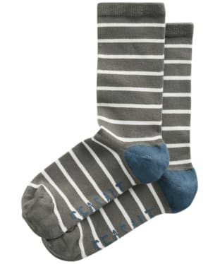 Women's Seasalt Sailor Socks - Breton Sorrel