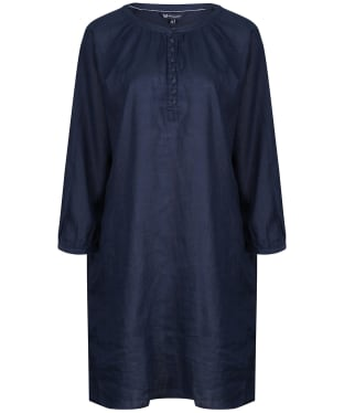 Women's Crew Clothing Linen Tunic - Navy