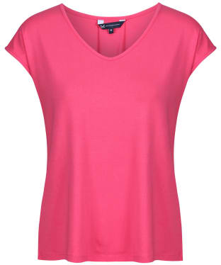 Women's Crew Clothing Pleat Back T-Shirt - Macaron