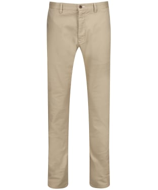 Men's GANT Slim Tech Prep Chinos - Dark Khaki