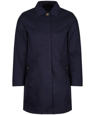 Women's GANT Tech Prep Rain Mac Coat - Evening Blue
