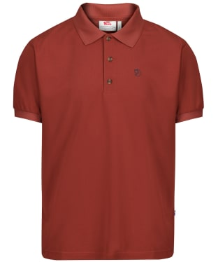 Men's Fjallraven Crowley Pique Shirt - Deep Red
