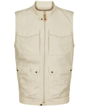 Men's Fjallraven Travellers MT Vest - Light Beige