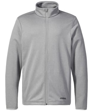 Men's Musto Essential Full Zip Sweat - Grey Melange
