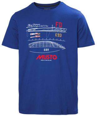 Men's Musto Flying Dutchman T-Shirt - Marine Blue