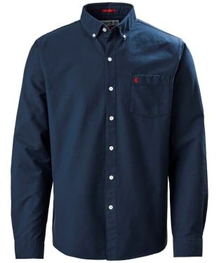 Men's Musto Aiden Long Sleeve Oxford Shirt - True Navy