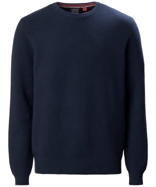 Men's Musto Milano Crew Neck Knit - True Navy