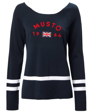 Women's Musto Sixty Four Knit - True Navy