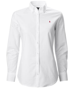 Women's Musto Oxford Long Sleeve Shirt - Bright White
