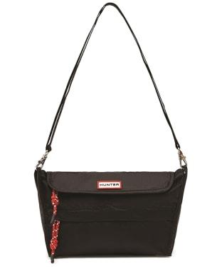 Hunter Packable Crossbody Bag - Black