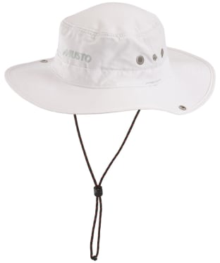 Musto Evolution Fast Dry Brimmed Hat - White