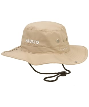 Musto Evolution Fast Dry Brimmed Hat - Light Stone