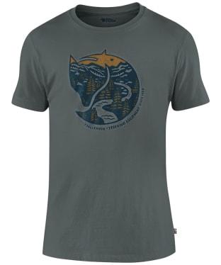 Men's Fjallraven Arctic Fox T-Shirt - Dusk