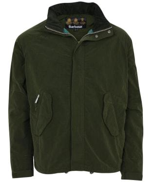 Men's Barbour Gold Standard Supa Nylon Transporter Casual Jacket - Forest