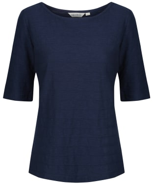 Women's Lily & Me Monica Midi Sleeve Top - Navy