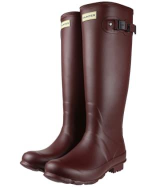 Women's Hunter Norris Field Neoprene Wellington Boots - Dulse