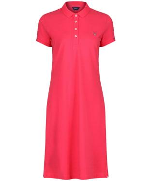Women's GANT Original Pique Dress - Watermelon Red