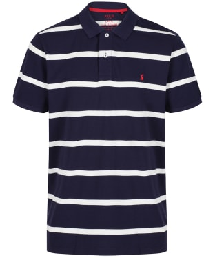 Men's Joules Filbert Striped Polo Shirt - Navy Stripe