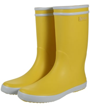 Aigle Children's Lolly-Pop Wellingtons - Yellow