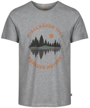 Men's Fjallraven Forest Mirror T-Shirt - Grey