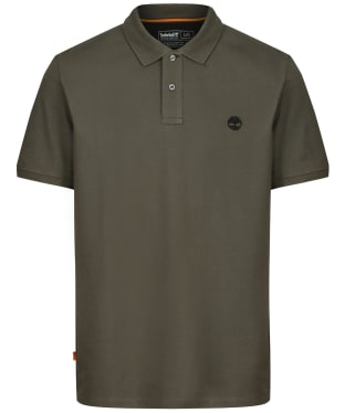 Men's Timberland Millers River Pique Polo Shirt - Grape Leaf